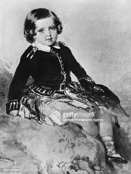 Prince Alfred Duke of SaxeCoburg and Gotha wearing a kilt 1849 A portrait by Franz Xaver Winterhalter The fourth child of Queen Victoria and Prince...