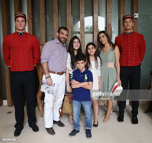 Prince Ali Bin AlHussein of Jordan attends the final day of the Cartier International Dubai Polo Challenge 10th edition at Desert Palm Hotel on...