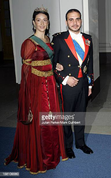 Prince Ali Bin AlHussein Of Jordan Wife Princess Rym AlAli Attends King Carl Gustaf Of Sweden'S 60Th Birthday CelebrationsGala Dinner At The Royal...