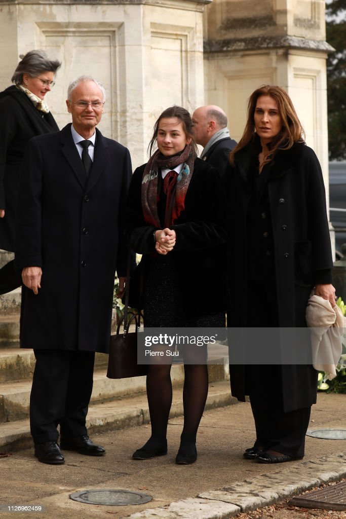 Funerals Of Prince Henri Of Orleans,  Count Of Paris At Chapelle Royale In Dreux : News Photo