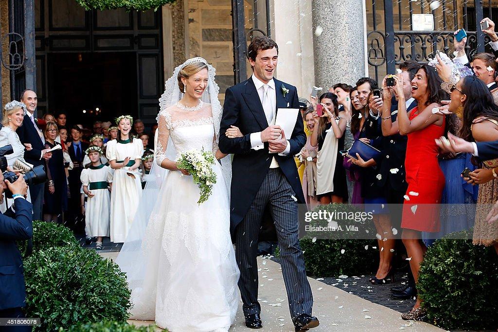 Wedding Of Prince Amedeo Of Belgium And Elisabetta Maria Rosboch Von Wolkenstein