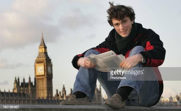 Prince Amedeo of Belgium studies at the London School of Economics.