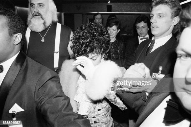 Prince american singer pictured at the British Phonographic Industry BPI Awards aka Brit Awards at Grosvenor House London 12th February 1985 He...