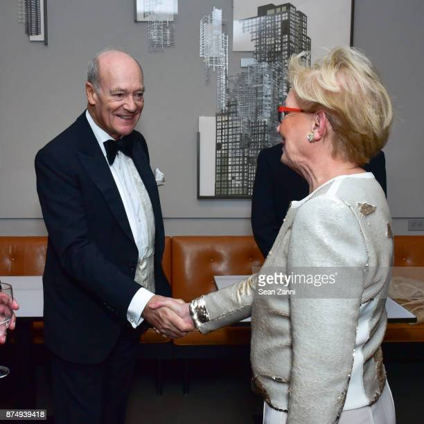 Prince Amyn Aga Khan and Guest attend The Aga Khan Foundation Gala at The Metropolitan Museum of Art on November 15 2017 in New York City