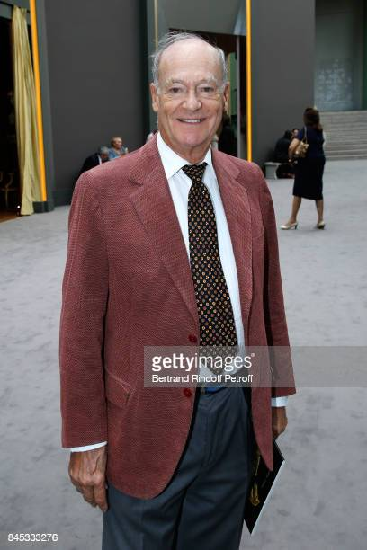 Prince Amyn Aga Khan attends the Biennale des Antiquaires 2017 PreOpening at Grand Palais on September 10 2017 in Paris France