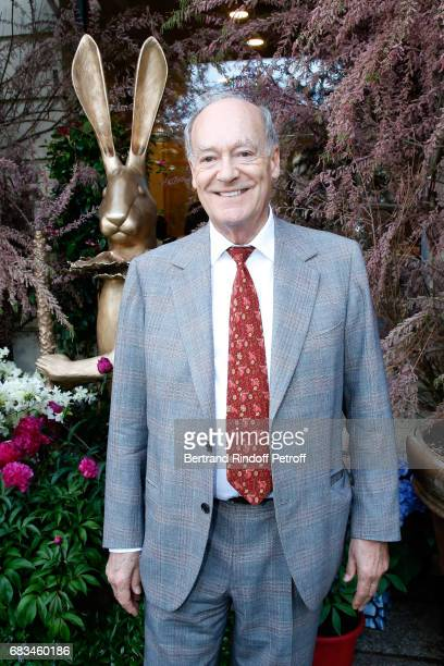 Prince Amyn Aga Khan attends the 'The Garden of Peter Marino' Book Signing at 'Moulie Flowers' on May 15 2017 in Paris France Preface of the Book and...
