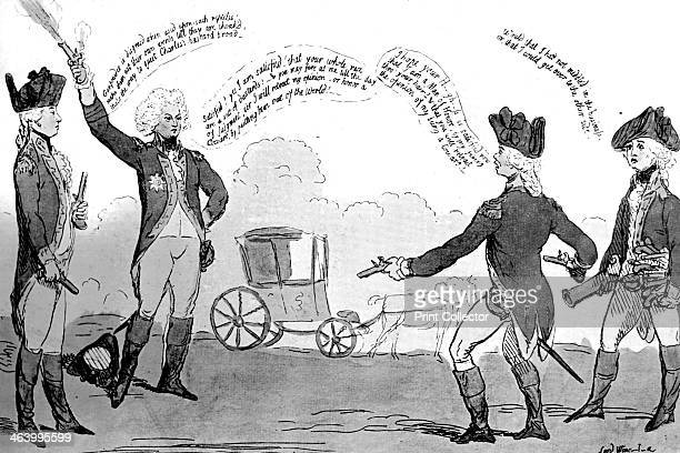 'A Prince and a Poltroon' 1789 The Prince of Wales Illustration from Social Caricature in the Eighteenth Century With over two hundred illustrations...