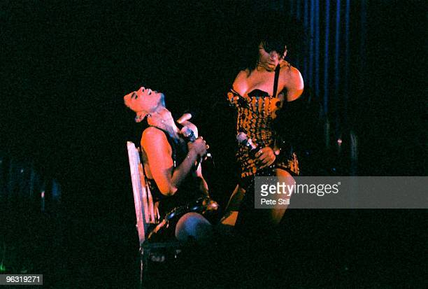 Prince and Cat Glover perform on stage on the Lovesexy tour at Wembley Arena on August 3rd 1988 in London United Kingdom