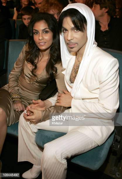 Prince and Manuela Testolini during 31st Annual People's Choice Awards Backstage and Audience at Pasadena Civic Auditorium in Pasadena CA United...