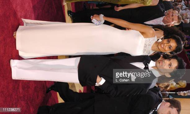 Prince and Manuela Testolini during The 77th Annual Academy Awards Arrivals at Kodak Theatre in Hollywood California United States