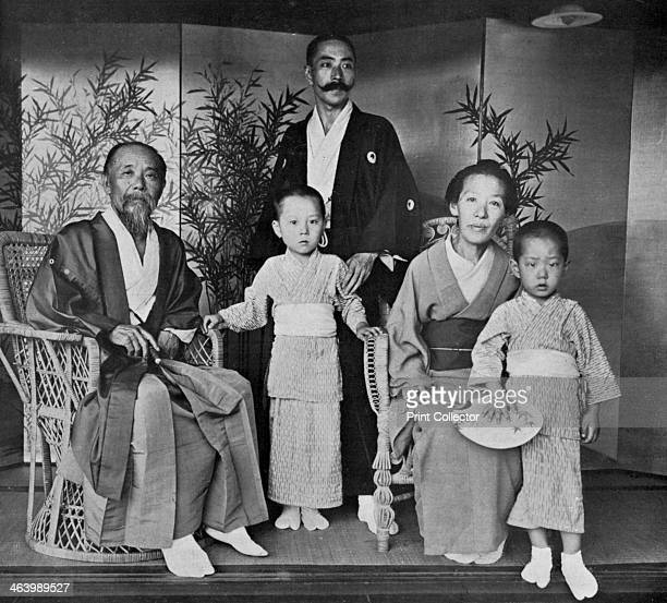 Prince and Princess Ito of Japan and their family 1909 Ito Hirobumi was educated in Japan and Britain He served as prime minister four times between...