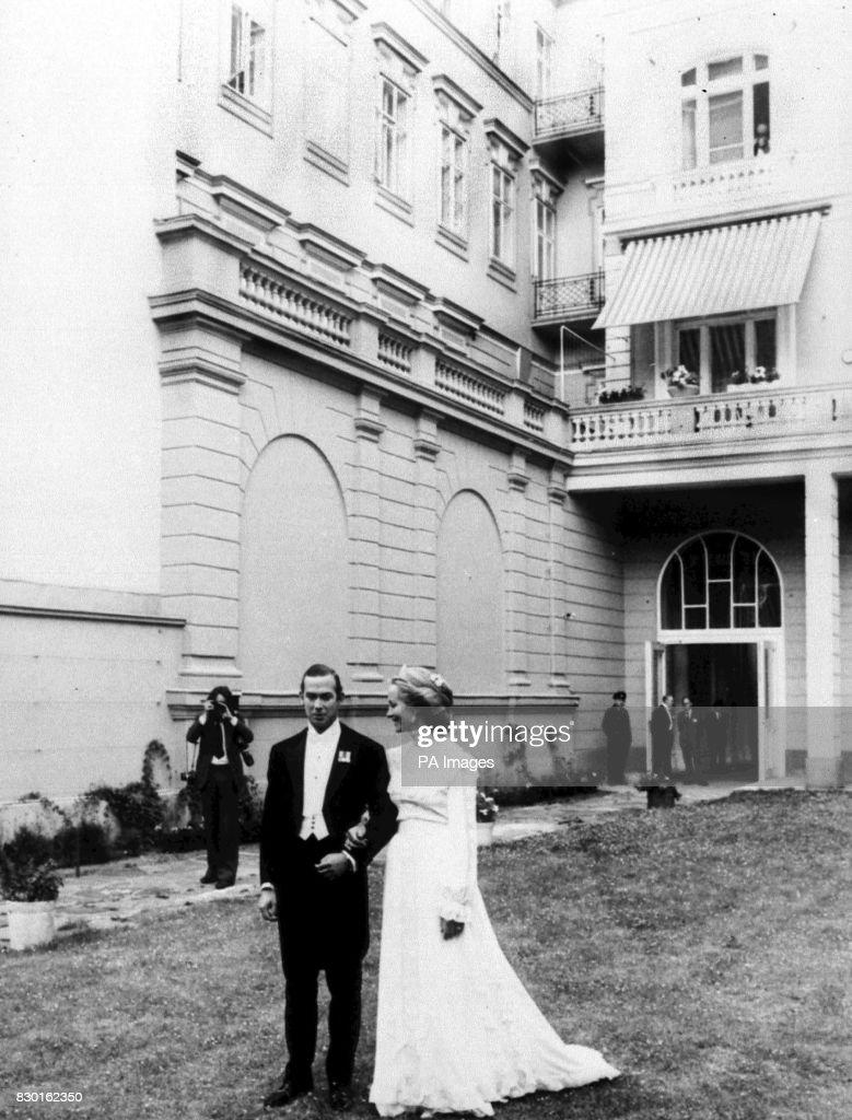 Royalty - Prince Michael of Kent and Baroness Riebnitz Wedding - Vienna : News Photo