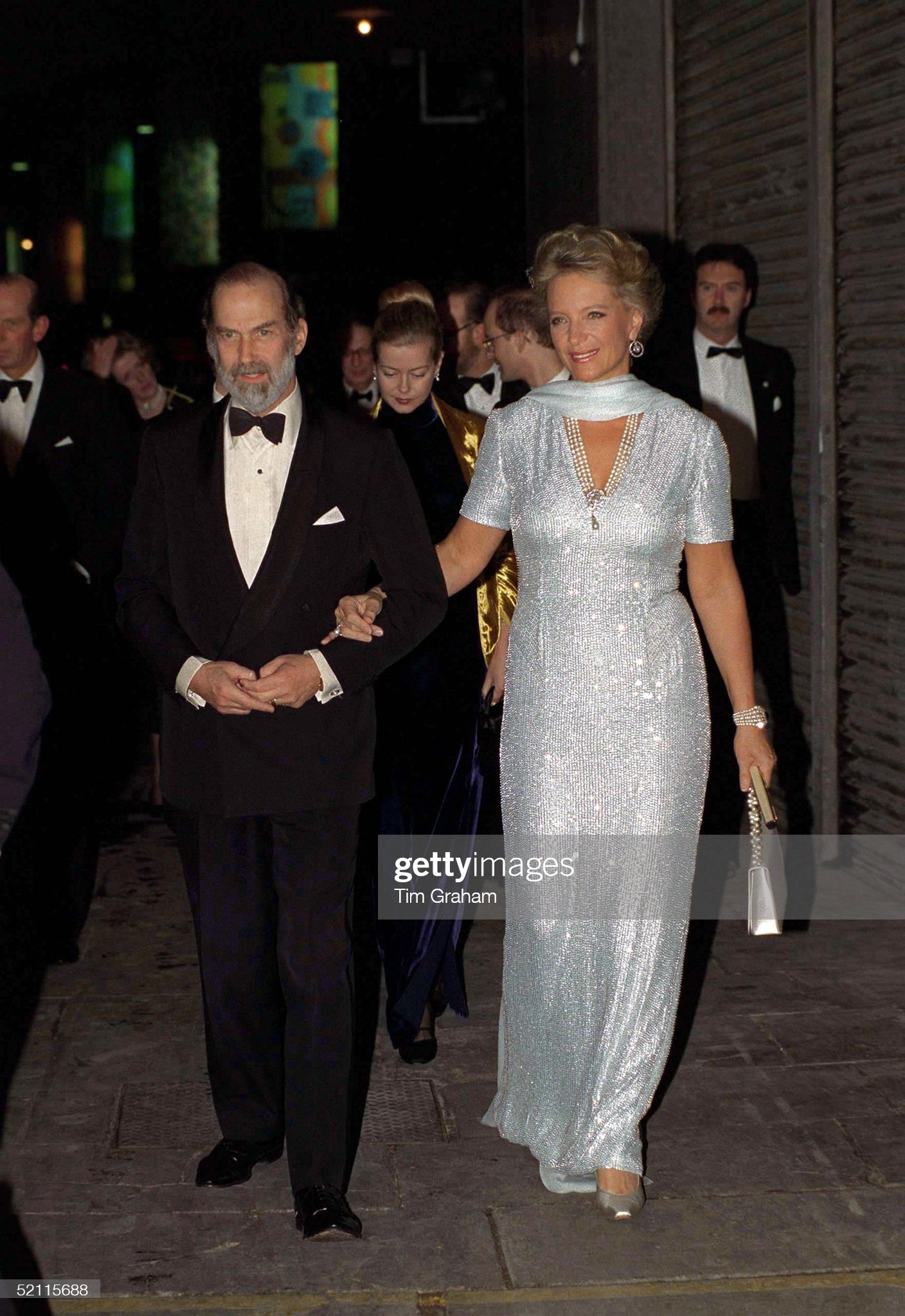 Prince And Princess Michael At Party : News Photo