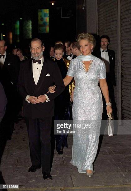 Prince And Princess Michael Of Kent Arriving For 'the Royal Gala' At The Royal Festival Hall In London To Celebrate The Royal Golden Wedding...
