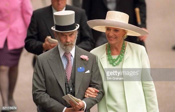 Prince And Princess Michael Of Kent At Ascot Races