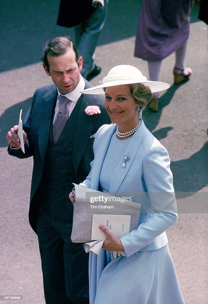 Prince & Princess Michael Of Kent At Ascot : News Photo