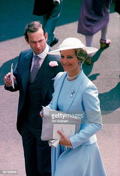 Prince and Princess Michael of Kent at Royal Ascot Races
