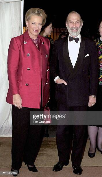 Prince And Princess Michael Of Kent Attending An Antiques Fair In London In Aid Of The Children's Charity ' Kids '