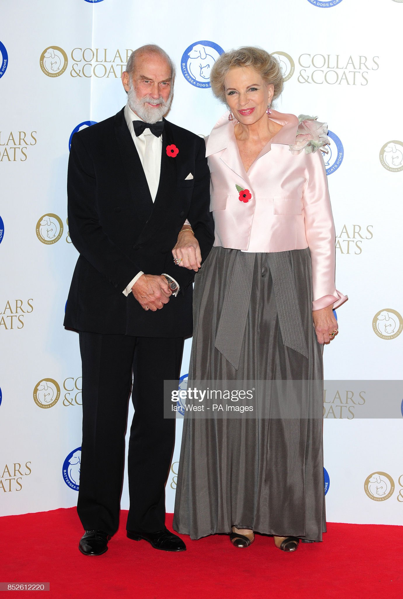 Collars and Coats Gala Ball - London : News Photo