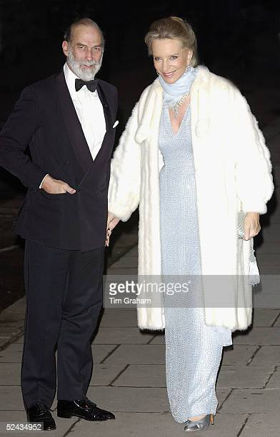 Prince and Princess Michael of Kent attends a banquet hosted by the President of the Italian Republic and his wife during their state visit to the UK...