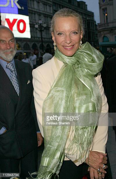 Prince And Princess Michael Of Kent during Jermyn Street Theatre 10th Anniversary Gala at The Criterion Theatre in London Great Britain