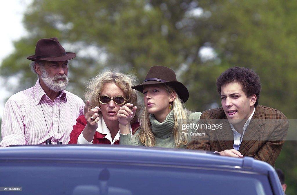 Prince Princess Michael Family : News Photo