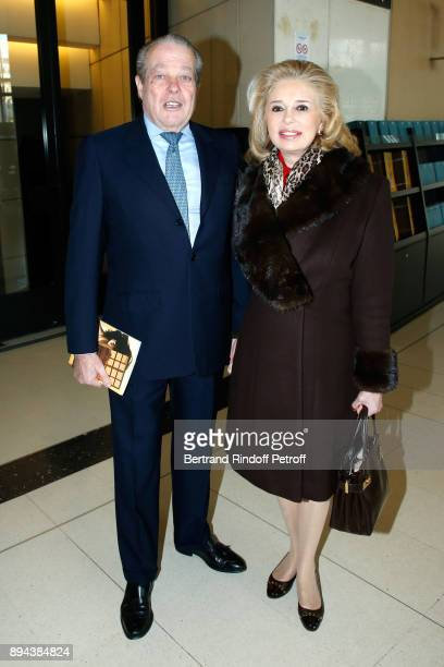 Prince and Princess Michel de France attend the 32th 'Reve d'Enfants' Charity Gala at Opera Bastille on December 17 2017 in Paris France