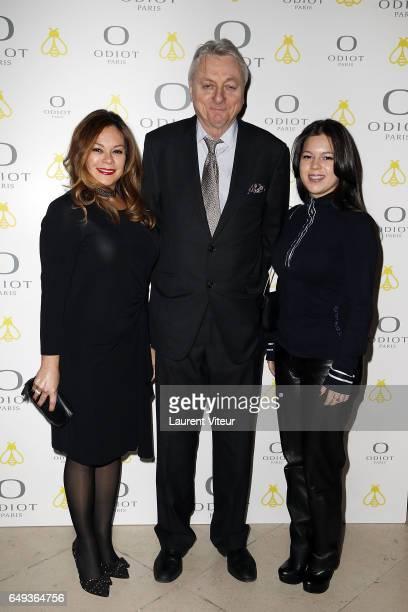 Prince and Princess Murat attend 'Dessiner L'Or et L'Argent Odiot Orfevre' Exhibition Launch at Musee Des Arts Decoratifs on March 7 2017 in Paris...