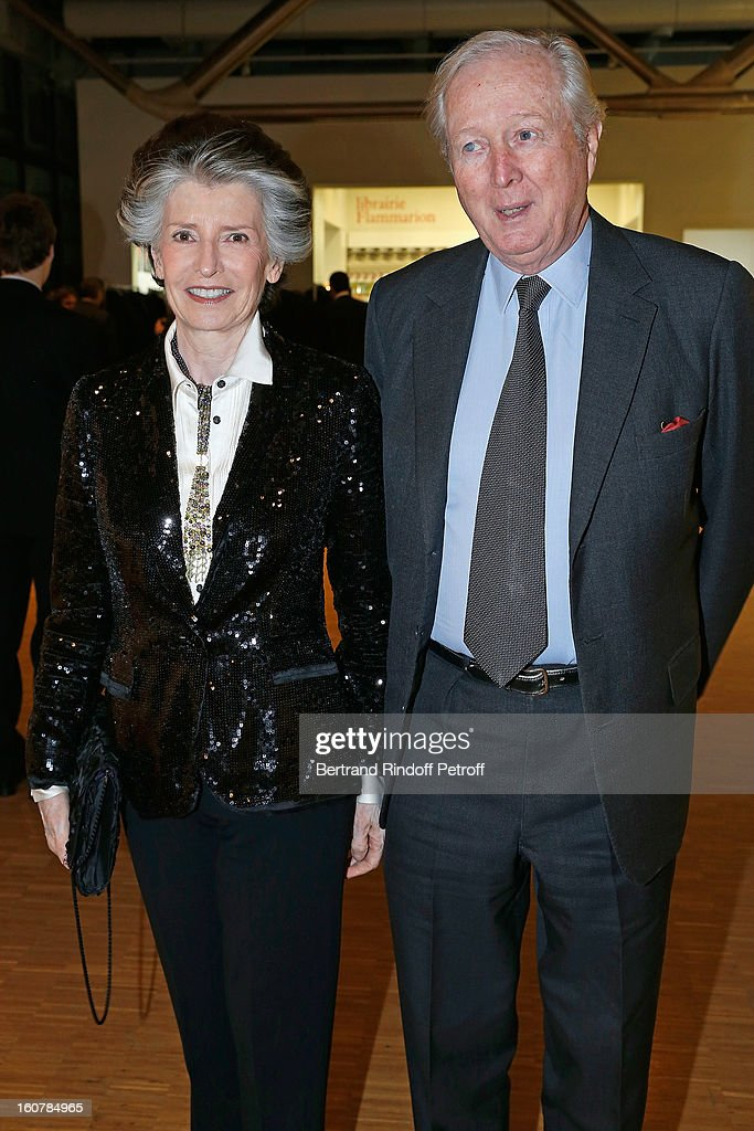 Prince and Princess Robin zu Sayn Wittgenstein attend the 8th Annual Dinner of the 'Societe Des Amis Du Musee D'Art Moderne' at Centre Pompidou on February 5, 2013 in Paris, France.