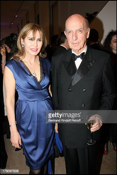 Prince and Princess Sforza Ruspoli at Uzbekistan 2020 Charity Dinner Gala At Musee D'Art Moderne De La Ville De Paris