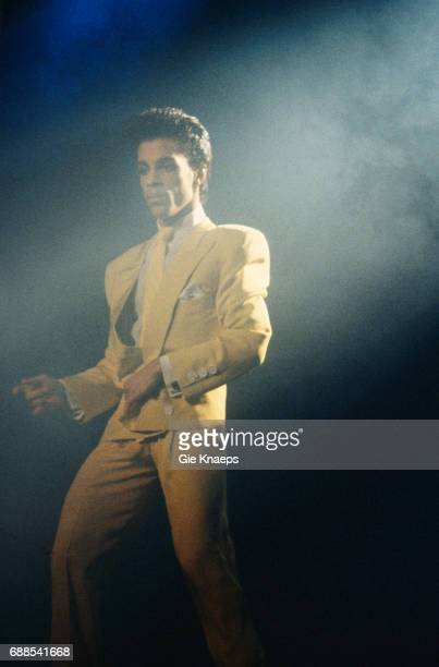 Prince and The Revolution Parade tour Prince Vorst Nationaal Brussels Belgium