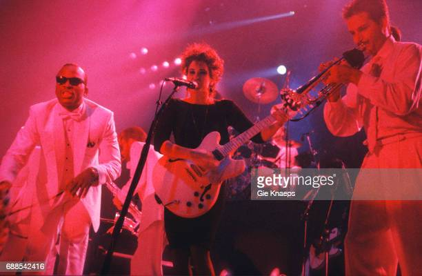 Prince and The Revolution Parade tour Wendy Melvoin Prince Vorst Nationaal Brussels Belgium