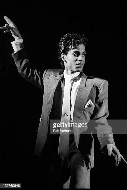 Prince and The Revolution perform on stage at Ahoy Rotterdam Netherlands 17th August 1986