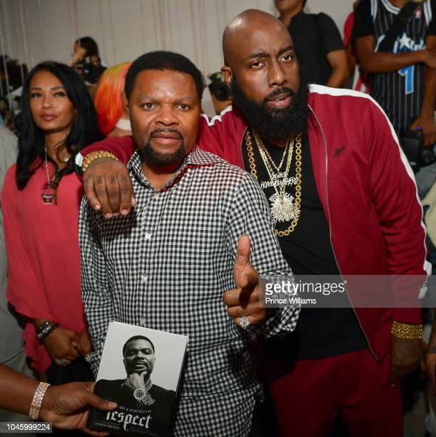 Prince and Trae Tha Truth attend the Dime Trap Album release event at The Trap Museum on October 4 2018 in Atlanta Georgia