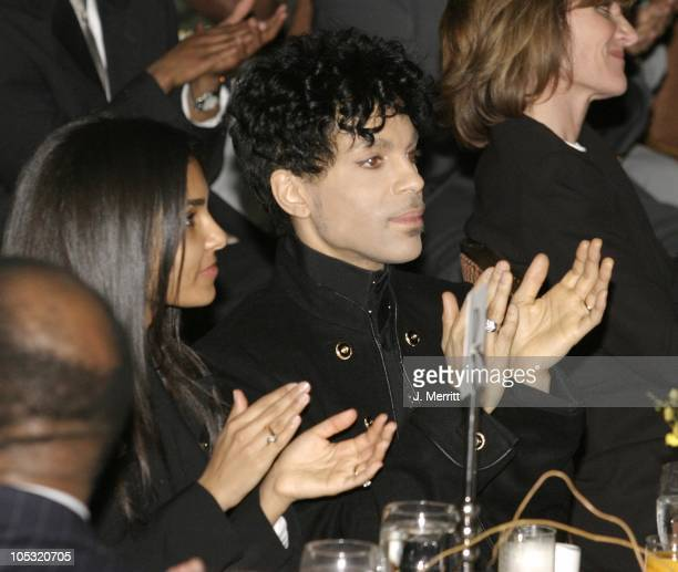 Prince and wife Manuela Testolini during 2nd Annual AEC Grammy Sunday Brunch at The Regent Beverly Wilshire Hotel in Beverly Hills California United...