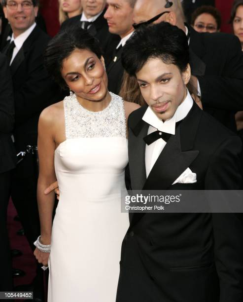 Prince and wife Manuela Testolini during The 77th Annual Academy Awards Arrivals at Kodak Theatre in Los Angeles California United States