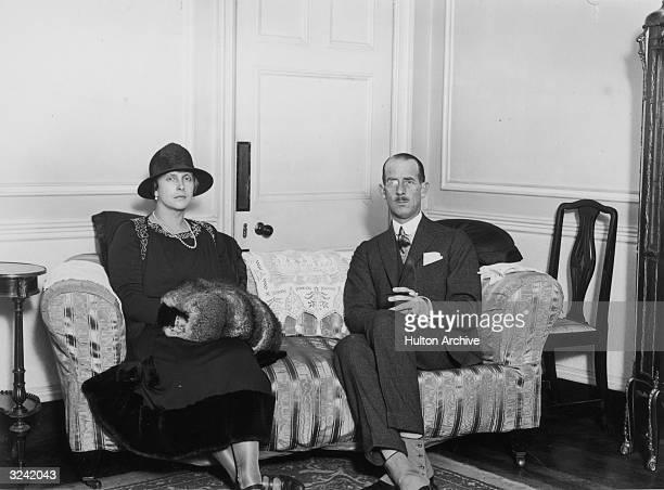 Prince Andrew and Princess Alice of Greece, the parents of Queen Elizabeth II's future consort Philip Mountbatten, .