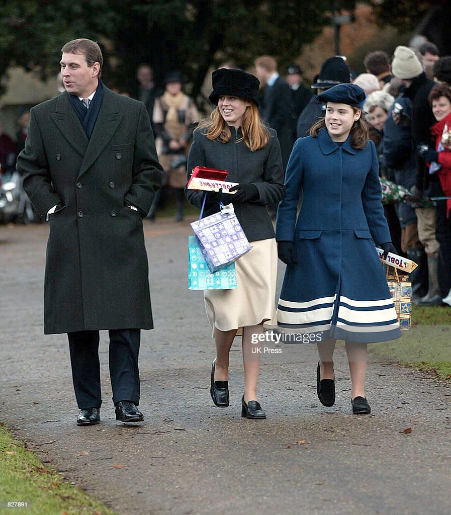 British Royals Attend Christmas Morning Service : News Photo