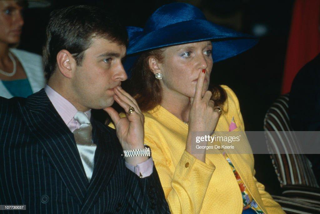 Duke And Duchess Of York : News Photo