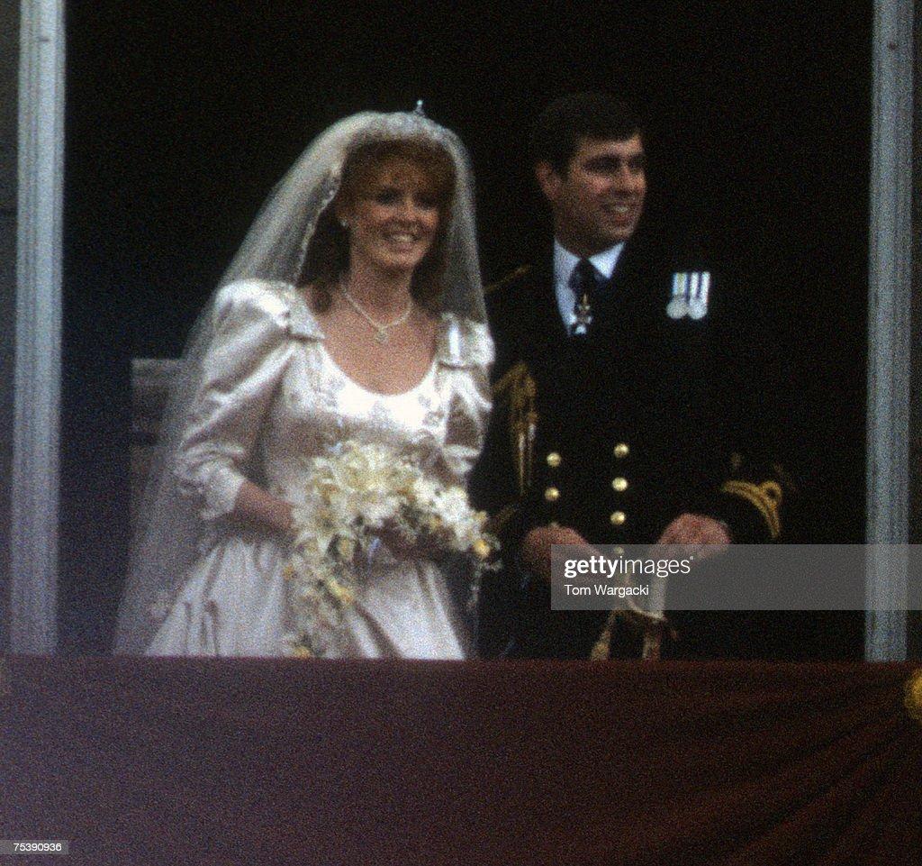 Prince Andrew, Duke of York and Sarah Ferguson Wedding : News Photo