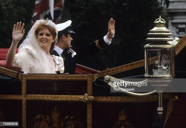 Prince Andrew Duke of York and Sarah Ferguson Duchess of York