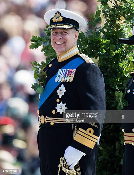 Prince Andrew Duke Of York attends the Founder's Day Parade at Royal Hospital Chelsea on June 4 2015 in London England at Royal Hospital Chelsea on...