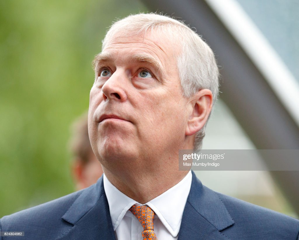 Prince Andrew, Duke of York attends the King George VI racing meet at Ascot Racecourse on July 29, 2017 in Ascot, England.