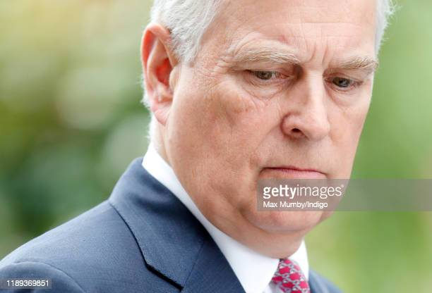Prince Andrew Duke of York attends the QIPCO King George Weekend at Ascot Racecourse on July 27 2019 in Ascot England