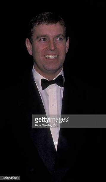 Prince Andrew, Duke of York attends The Royal Academy of Art Dinner Gala on October 30, 2000 at the Rainbow Room in New York City.