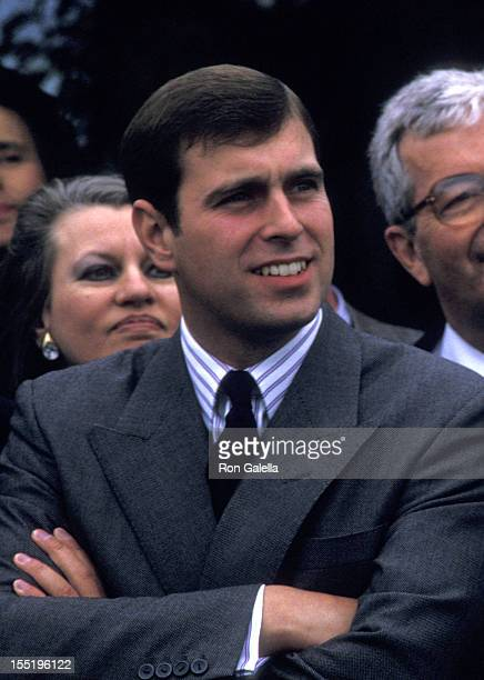 Prince Andrew, Duke of York attends World Wildlife Fund Benefit on September 19, 1987 at the Greenwich Polo Club in Greenwich, Connecticut.