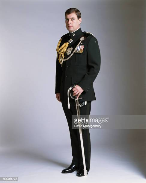 Prince Andrew Duke of York in military uniform circa 1995
