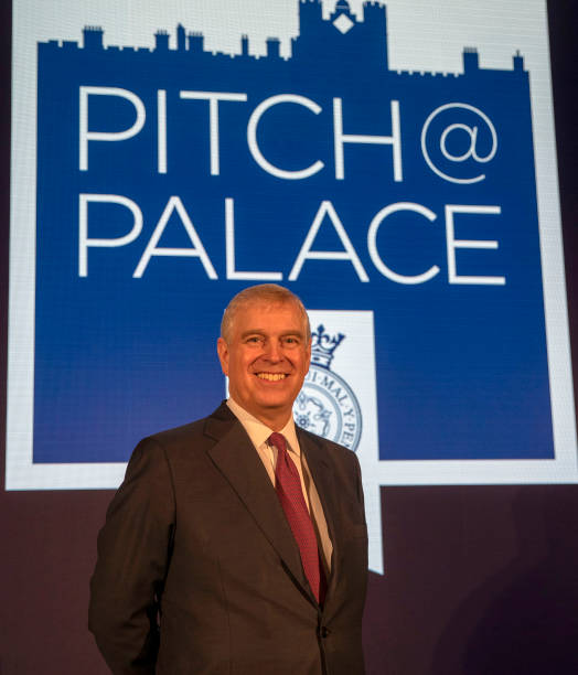 GBR: The Duke Of York Hosts Pitch@Palace Event