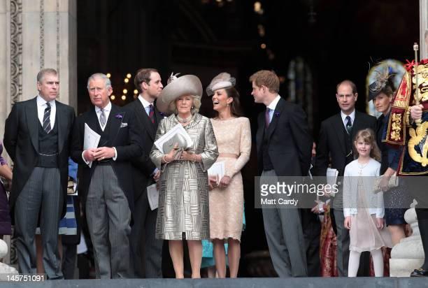 Prince Andrew Duke of York Prince Charles Prince of Wales Prince William Duke of Cambridge Camilla Duchess of Cornwall Catherine Duchess of Cambridge...