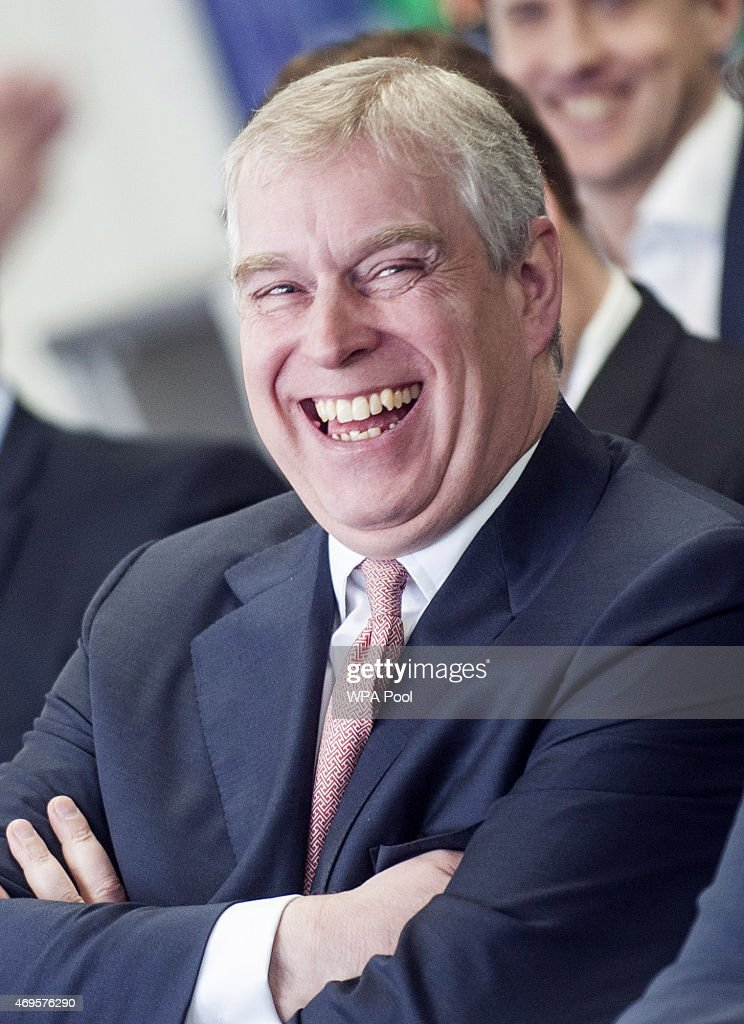 The Duke Of York Visits The Offices Of AkzoNobel